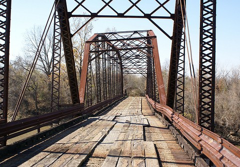 Photo of Broken Bridge