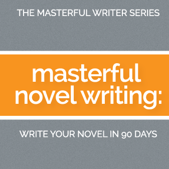 Masterful Novel Writing Book Cover - how to write a novel