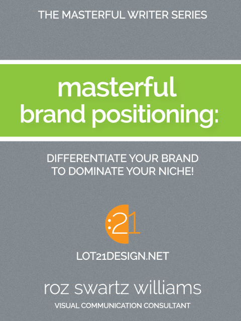 Masterful Brand Positioning Book Cover - Professional Writing Voice