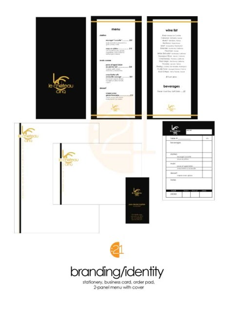Restaurant Branding Sample