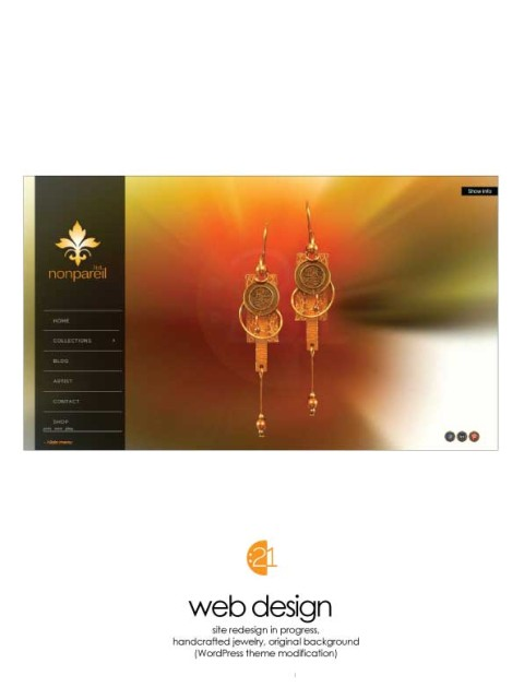 WordPress Web Design Sample