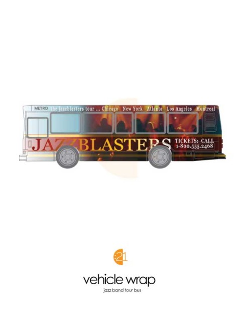 Bus Wrap Sample