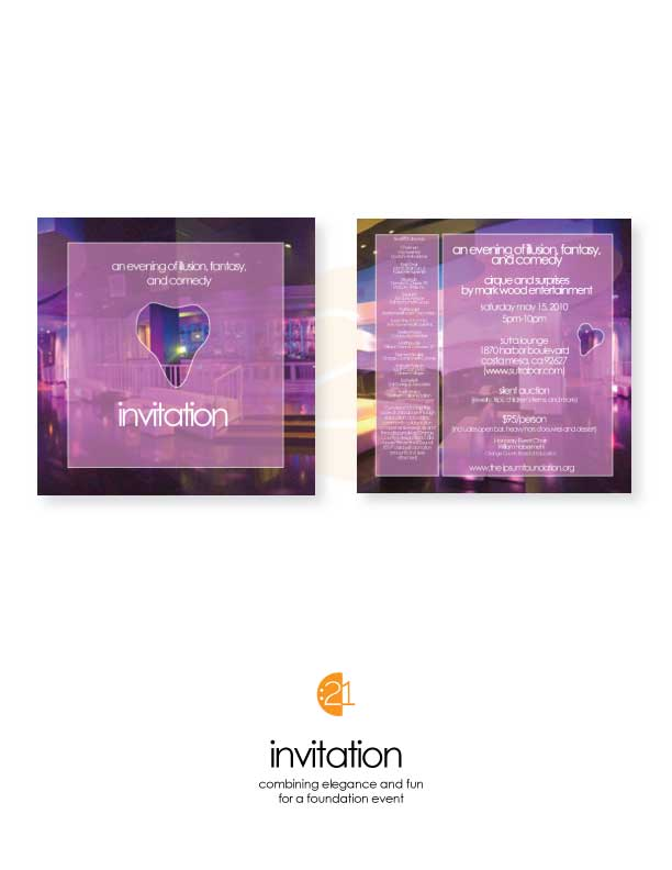 Foundation - Invitation Sample
