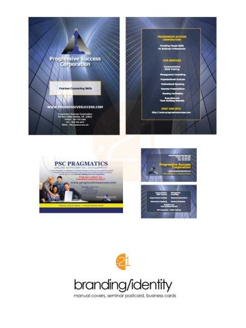 Progressive Success Corp - Branding & Identity Sample