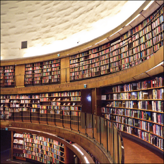 Photo Credit: Stockholm Public Library by Samantha Marx